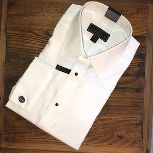 JoS A. Banks Tuxedo Reserve Shirt, Size 17 - 37
